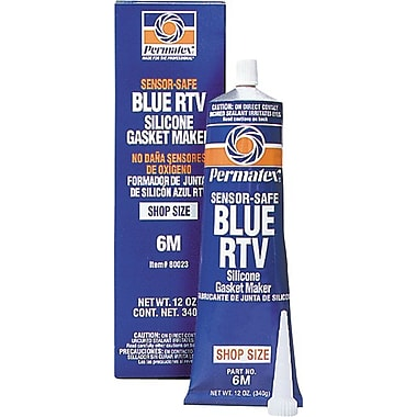 Permatex® Blue Non-Sag Paste Sensor-Safe RTV Silicone Gasket Maker, 12.9 oz Cartridge