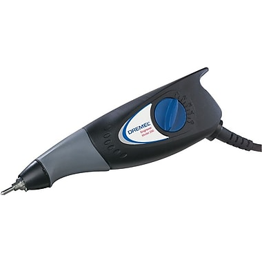 Dremel® (3) 9924 Carbide Point Volt Engraver Kit, 115 VAC At 60 Hz, 0.2 A, 7200 Strokes/min