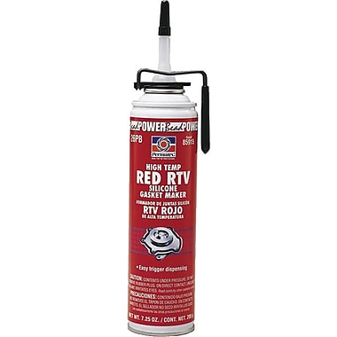 Permatex High Temperature Red RTV Silicone Gasket Maker - #26 3 oz., 12/Case