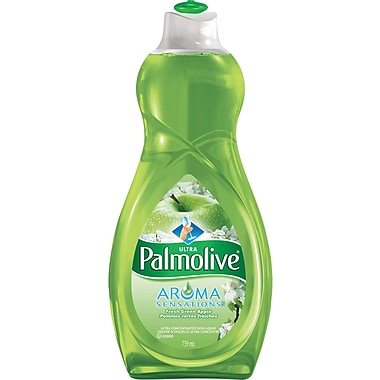 Palmolive Ultra Aroma Sensations Dish Liquid, Fresh Green Apple