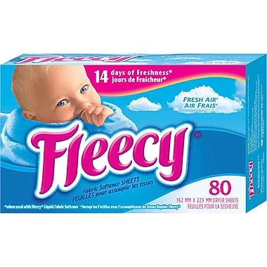 Fleecy Fresh Air Fabric Softener Sheets