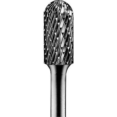 PFERD 1 3/4 in (L) x 1/4 in Round Shank Style C Tungsten Carbide Bur Bit Sets