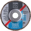 POLIFAN® 4 1/2 in (OD) 3/4 in (T) 27 ZA Flap Disc, 60 (Medium), 7/8 in Arbor