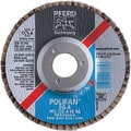 POLIFAN® 4 1/2 in (OD) 5/8 in (T) 27 AO Flap Disc, 60 (Medium), 7/8 in Arbor