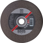 PFERD 9 in (OD) x 1/8 in (T) 27 Depressed Center AO Cut-Off Wheel, 46 (Medium), 5/8-11 inches Arbor