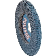 POLIFAN® 5 in (OD) 5/8 in (T) 29 Medium ZA Flap Disc, 40 (Medium), 5/8-11 inches Arbor