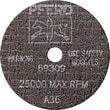 PFERD 4 in (OD) x 0.035 in (T) 1 A-PS AO Cut-Off Wheel, 60 (Medium), 3/8 in Arbor