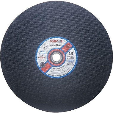 CGW® 14 in (OD) x 1/8 in (T) 1 Straight Premium AO Cut-Off Wheel, 24 (Coarse), 1 in Arbor