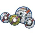 CGW® 4 1/2 in (OD) x 1/8 in (T) 27 Depressed Center AO Cut-Off Wheel,24 (Coarse),5/8-11 inches Arbor