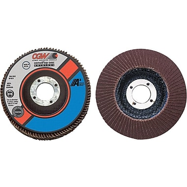 CGW® 4 1/2 in (OD) Regular 27 Depressed Center AO Flap Disc, 80 (Fine), 5/8-11 inches Arbor