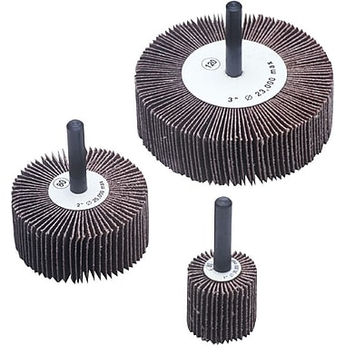 CGW® 20000 rpm AO Abrasive Flap Wheel, 3 in (OD), 80 (Fine)
