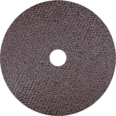 CGW® 13300 rpm Standard Resin Fibre AO Abrasive Disc, 4 1/2 in (OD), 24 (Coarse)