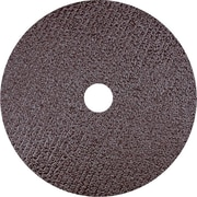 CGW® 8600 rpm Standard Resin Fibre AO Abrasive Disc, 7 in (OD), 24 (Coarse)