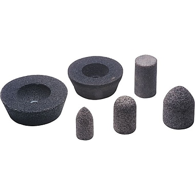 CGW® 2 in (OD) x 3 in (T) 18R AO Resin Cone, 16 (Coarse), 5/8-11 Arbor