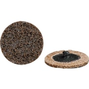CGW® 20000 rpm Brown Quick Change Surface Conditioning Roll On Disc, 3 in (OD), Coarse Grit