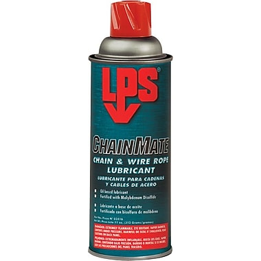 LPS ChainMate® Liquid Chain and Wire Rope Lubricant, 16 oz Aerosol Can