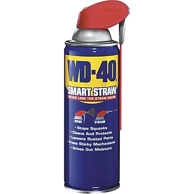 WD-40® Smart Straw® 131 deg F Flash Point Liquid Lubricant, 8 oz Trigger Spray Aerosol Can