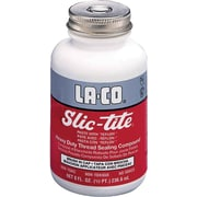 LA-CO Slic-Tite Premium Thread Sealant 4 oz., 12/Case