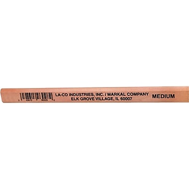 LA-CO® 7 in Length Medium Lead Carpenter Pencil, Gray