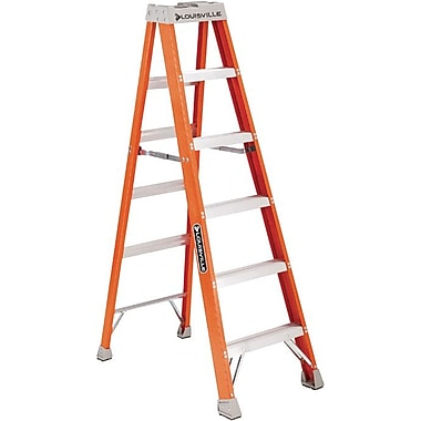 Louisville™ IA Class Series FS1500 Fiberglass Extra-Heavy Duty Step Ladder, 6'
