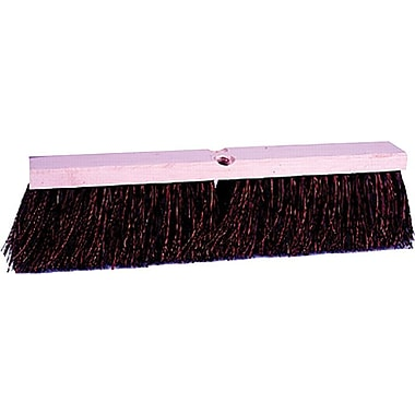 Weiler® Vortec Pro® Econoline® Hardwood Handle Maroon PP Bristle Sweep Brush