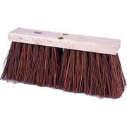 "Weiler 804-42033 16"" Polypropylene Bristle Street Broom"
