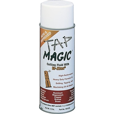 Tap Magic EP-Xtra® 300 deg F Flash Point Yellow Liquid Cutting Fluid, 12 oz Aerosol Can