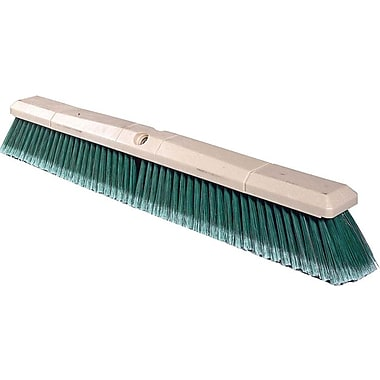Weiler Perma-Sweep Synthetic Foam Handle Maroon Polypropylene Bristle Floor Brush
