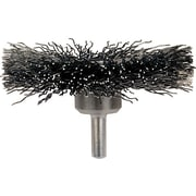Advance Brush 1/4 in Stem 0.014 in (Dia) x 1 in (L) SS Wire Crimped Wheel Brush, 3 in (Dia)