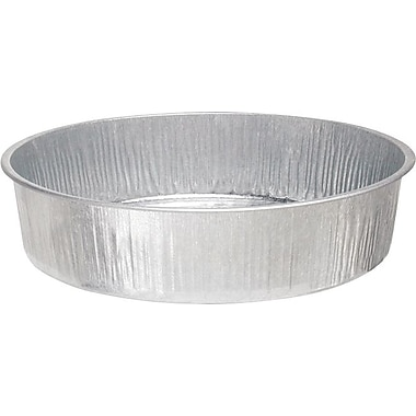 Plews® 16 in (Diameter) Galvanized Steel Utility Drain Pan, 4 in (H), 3 1/2 Gallon Capacity