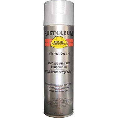 HIGH PERFORMANCE® Aerosol Can Paint, Silicone Blend, High Temperature Aluminum, 15 oz.