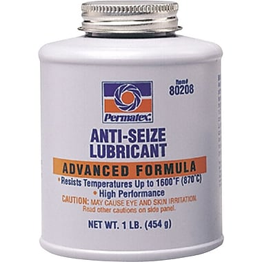 Permatex® Silver Metallic Paste Anti-Seize Lubricant, 4 oz Brush Top Can