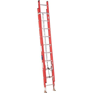 Louisville™ IA Class Series FE3200 Fiberglass Industrial Extension Ladder, 16'