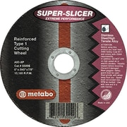 Metabo® 6 in (OD) x 0.045 in (T) 1 Extreme Performance AO Cut-Off Wheel, 60 (Medium), 7/8 in Arbor