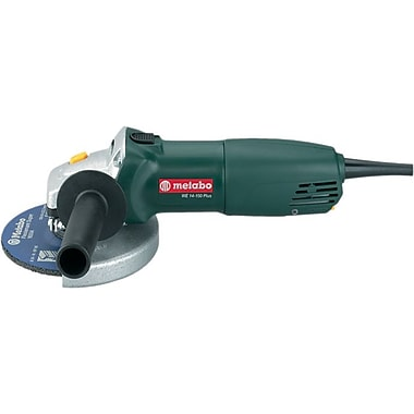 Metabo® Side Handle Aluminum Housing 9000 rpm Electronic Small Angle Grinder, 6 in (Dia) Wheel