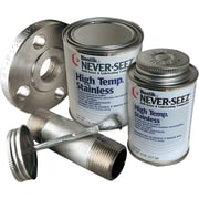 Never-Seez® Silver Gray High Temperature Stainless Anti-Seize Lubricant, 16 oz Brush Top Can