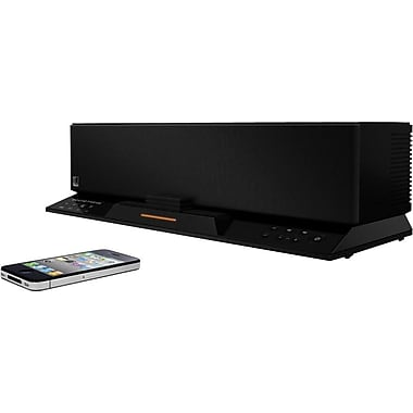 SoundFreaq Sound Step Recharge Bluetooth Wireless Audio System, Black