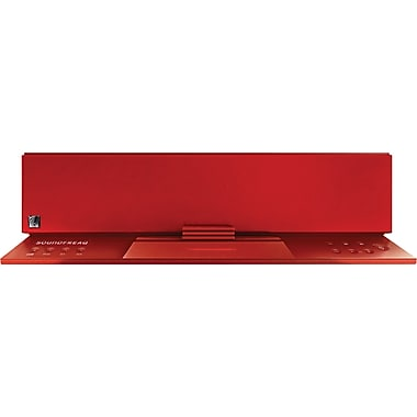 SoundFreaq Sound Step Recharge Bluetooth Wireless Audio System, Red