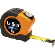 Lufkin® A4 Yellow Clad Steel Pro Series 3000 Measuring Tape, 25 ft (L) x 1 in (W) Blade