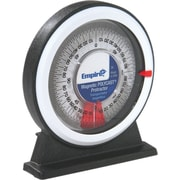 Empire® 0-360 deg Range Polycast® Magnetic Protractor, 1 deg Graduations
