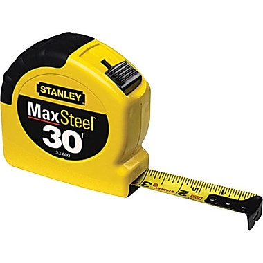 MAX® Mylar® Polyester BladeArmor™ Steel Single Side Measuring Tape, 16 ft (L) x 3/4 in (W) Blade