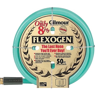 Flexogen® 5/8 in (ID) 8 ply Series 10 Garden Hose, 100 ft (L)
