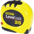 Leverlock® Polymer Coated Spring Steel Single Side Measuring Tape, 25 ft (L) x 1 in (W) Blade