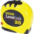 Leverlock® Polymer Coated Spring Steel Single Side Measuring Tape, 16 ft (L) x 3/4 in (W) Blade