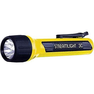 ProPolymer® 3 C Alkaline Yellow Polymer Flashlight, (10) White LED's