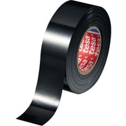 Tesa® General Purpose Black Electrical Tape, 20 yd (L) x 3/4 in (W)
