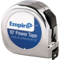 Empire® Nylon Coated CS 5/8 in (W) Blade Single Side Measuring Tapes