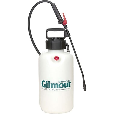 Gilmour® Translucent Polyethylene Multi-Purpose Portable Sprayer, 3 gal