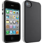 Belkin F8W084EBC01 Grip Candy Case For iPhone 4, Black
