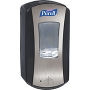 Purell® LTX-12 Touch Free Hand Sanitizer Dispenser, Black/Chrome, 1,200 ml